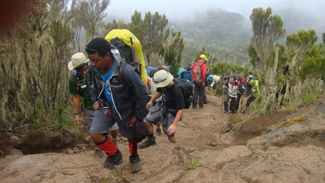 Výstup na Mount Meru