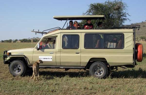 Toyota Land Cruiser v provedení pro safari