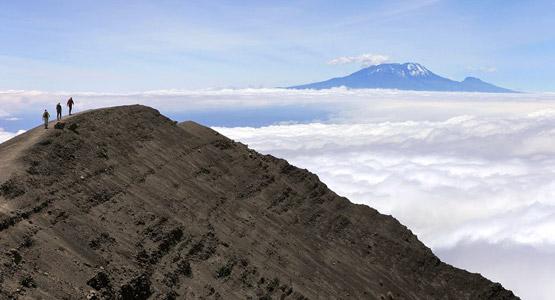 Výhled z Mount Meru
