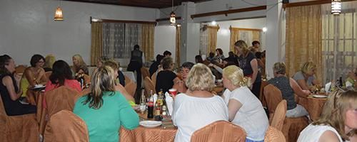 Restaurace v Twiga Lodge & Campsite