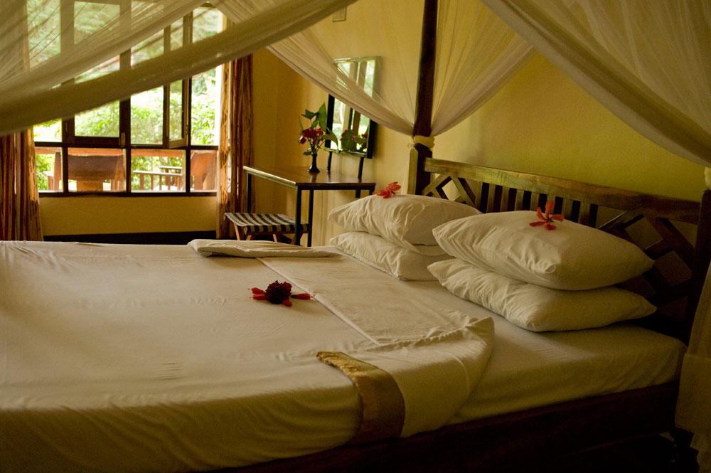 Velké a pohodlné pokoje