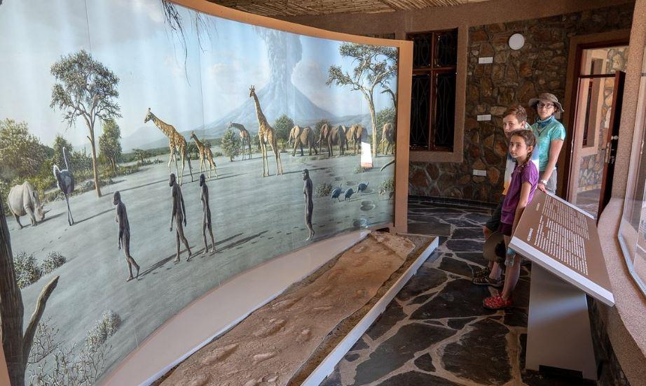 Muzeum v Olduvajské rokli