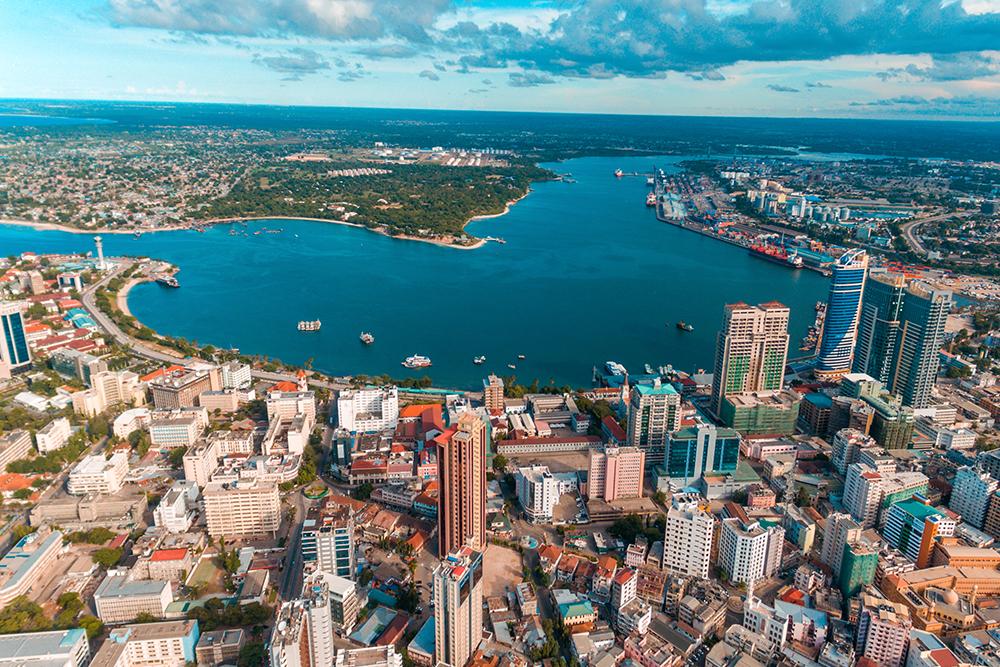 Největší město Tanzanie Dar es Salaam