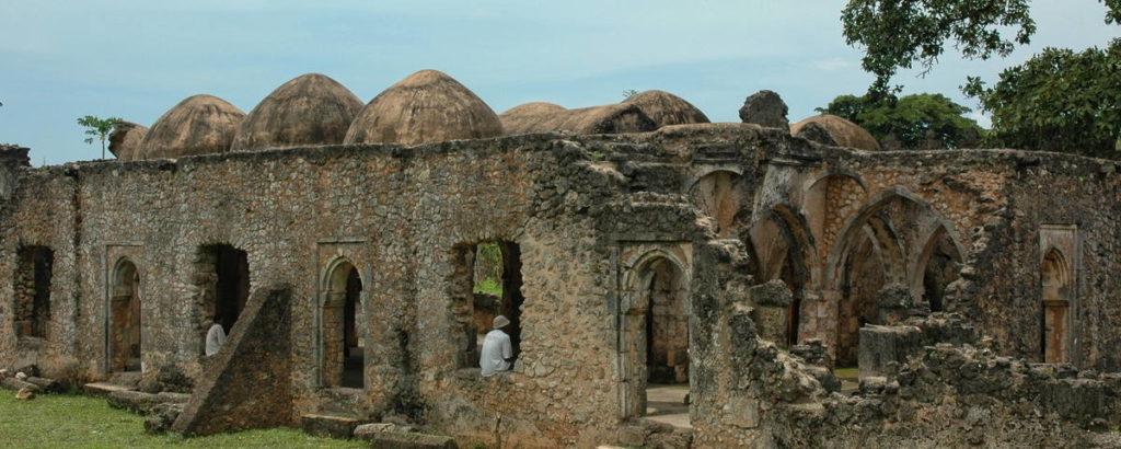 Pozůstatky staveb v lokalitě Kilwa