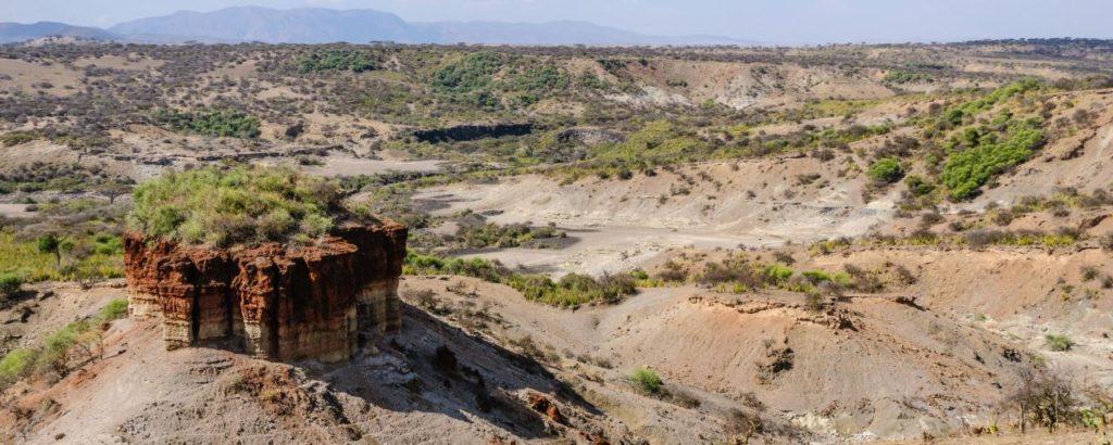 Olduvajská rokle v národním parku Serengeti