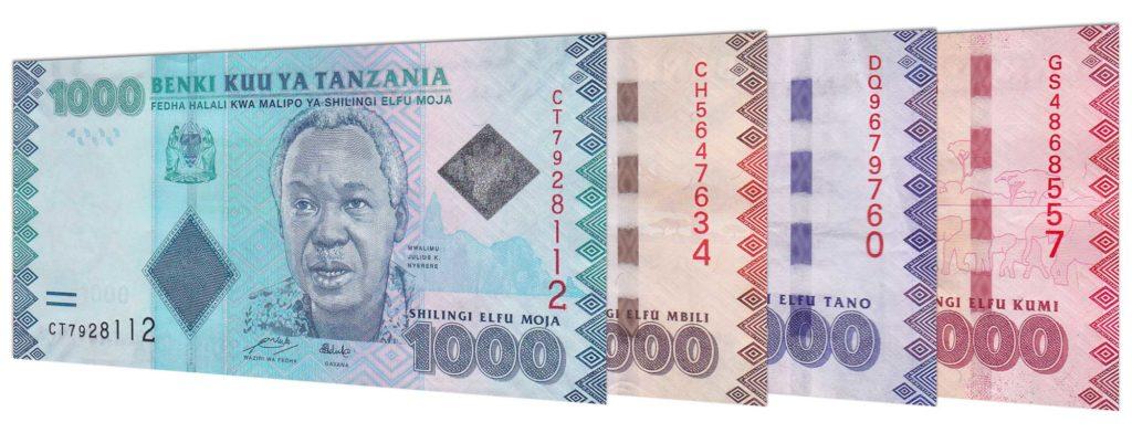 Měna Tanzanie