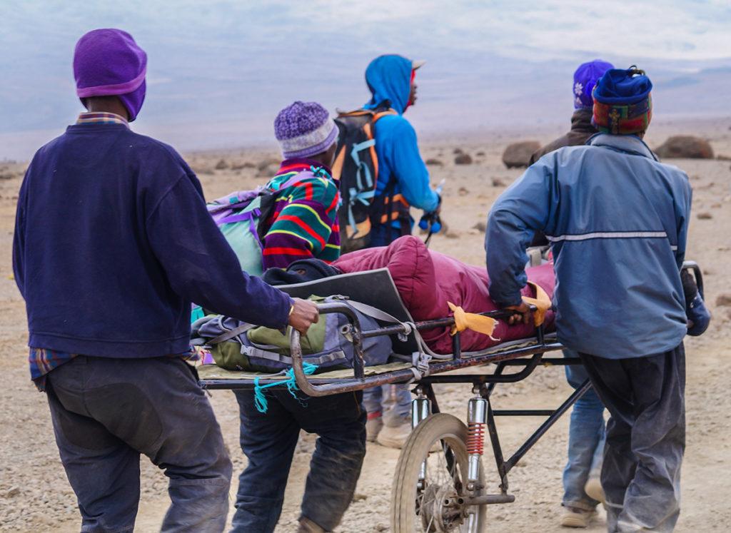 Kilimandžáro – vozítko pro svoz lidí postižených horskou nemocí