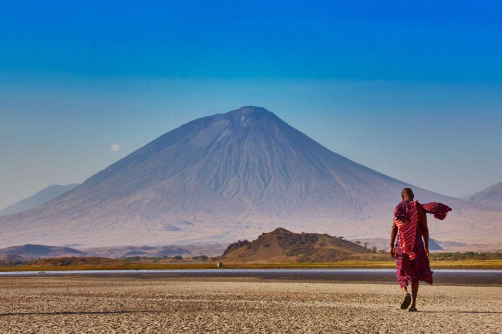 Ol Doinyo Lengai znamená v jazyce Masajů Hora Bohů.