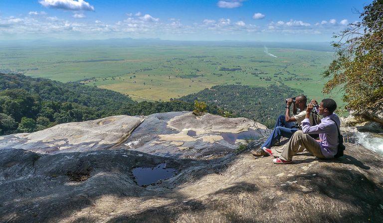 V parku Udzungwa Mountains najdete hory i savany