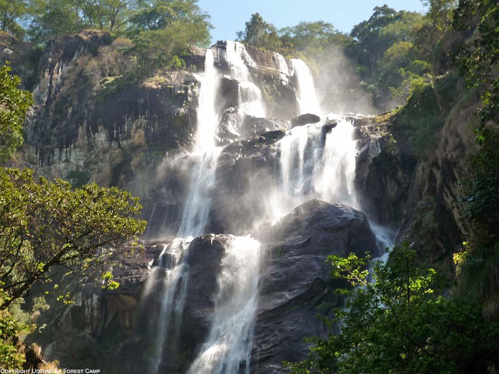 Vodopády v národním parku Udzungwa Mountains