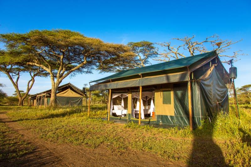 Stanové chatky v Heritage Migration Camp