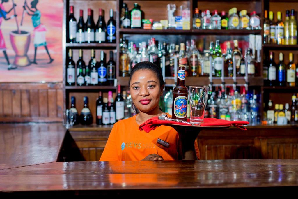 Bar s bohatým výběrem nápojů