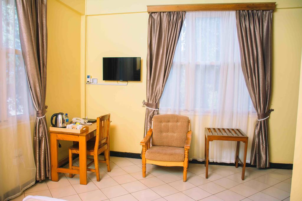 Vybavení pokojů v Keys Hotel
