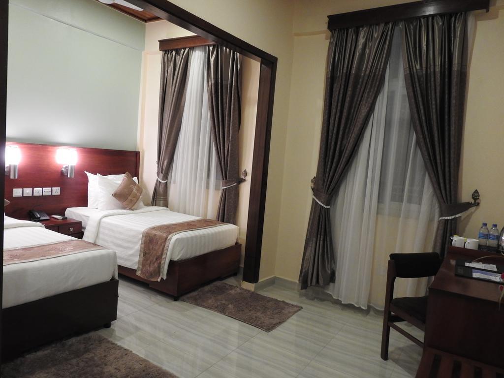 Prostorné a komfortní pokoje v Keys Hotel
