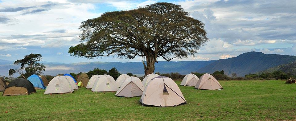 Ngorongoro Simba Campsite