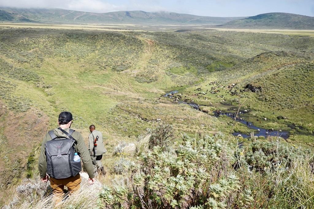 Trek kráter Olmoti