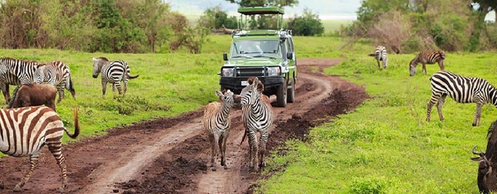 Klasické safari v národním parku Arusha