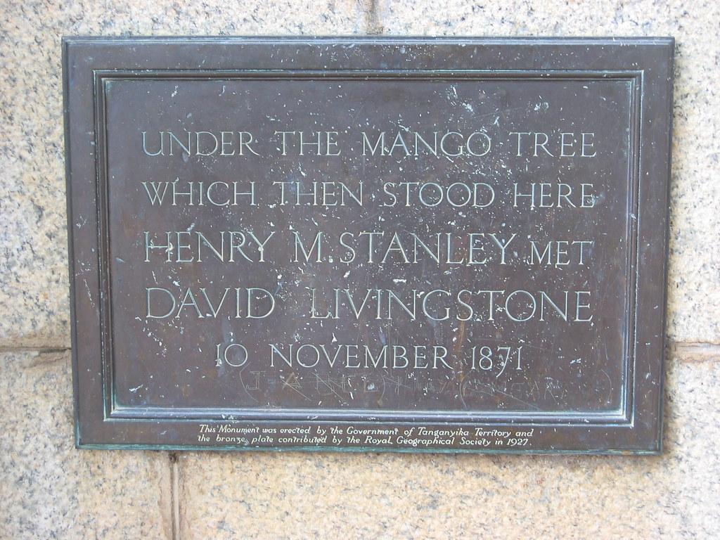 Památník Dr. Livingstona v Ujiji poblíž parku Gombe
