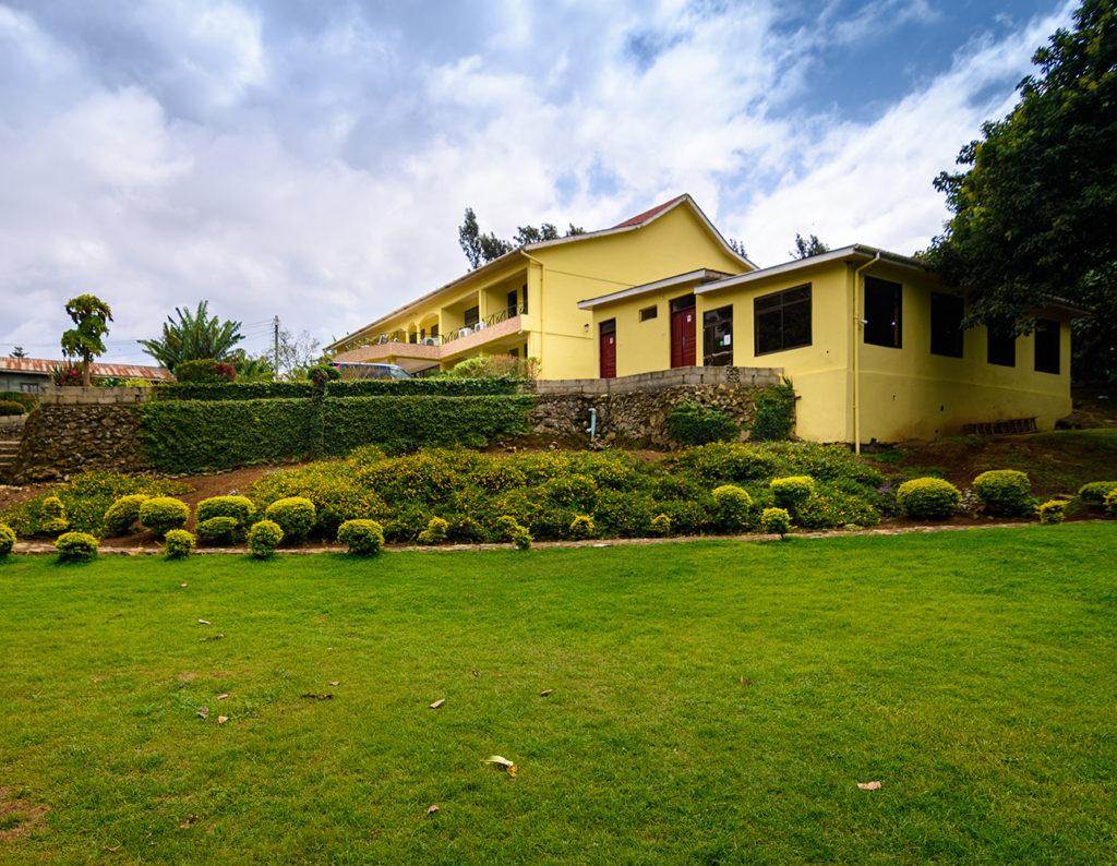 Zahrady v The Mvuli Hotel